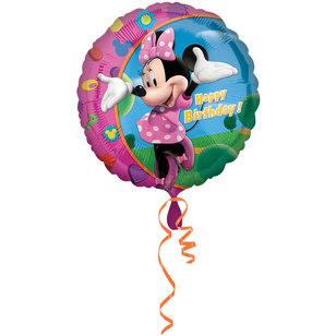 Amscan Foil Minnie Happy Birthday Balloon