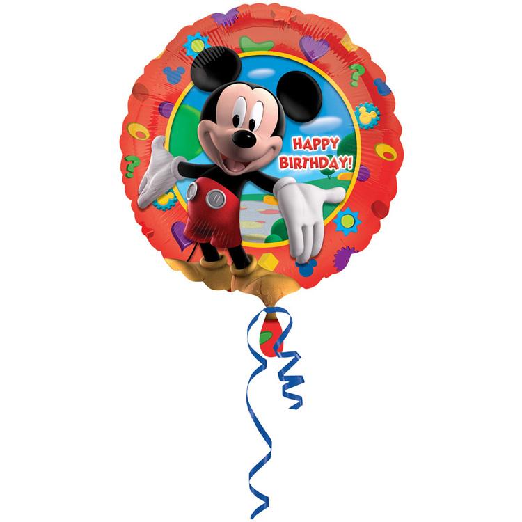 Amscan Foil Mickey Mouse Birthday Balloon