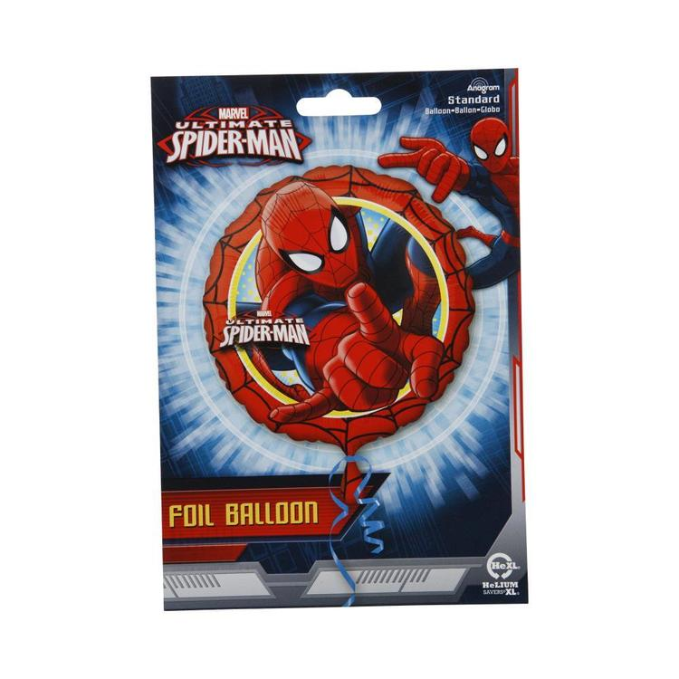 Amscan Spider-Man Foil Balloon Multicoloured 43 cm