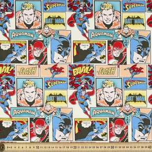 DC Comics Heroes Comic Fabric