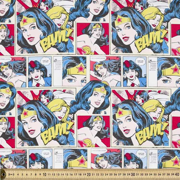 DC Comics Heroes Wonder Woman Fabric