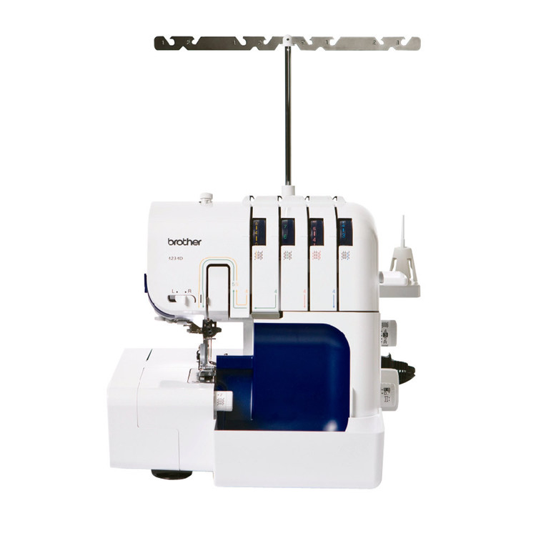Brother 4234D Overlocker White & Blue