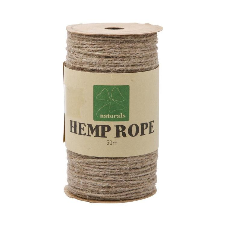 Shamrock Craft Naturals Craft Hemp Rope Spool