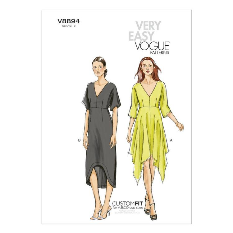 Vogue V8894 Misses' Dress