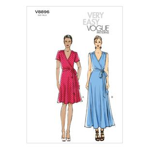 Vogue Pattern V8896 Misses' Dress