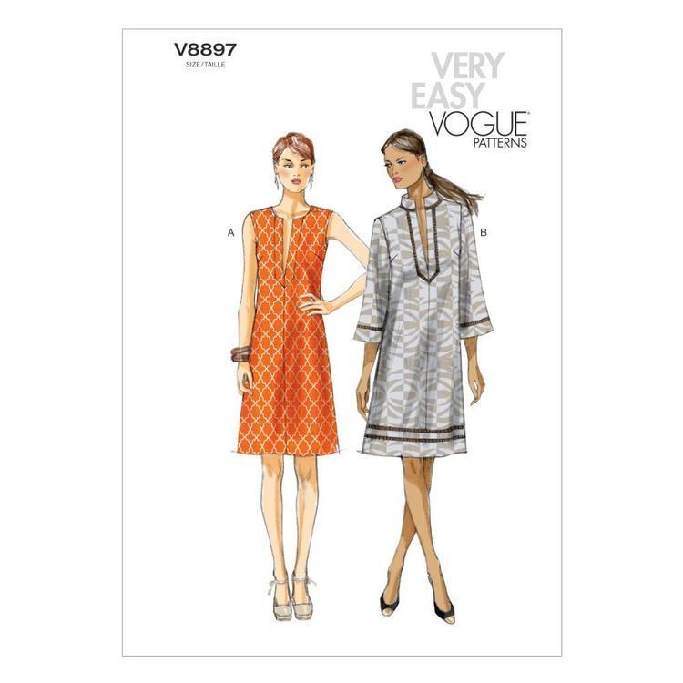 Vogue Pattern V8897 Misses' Dress