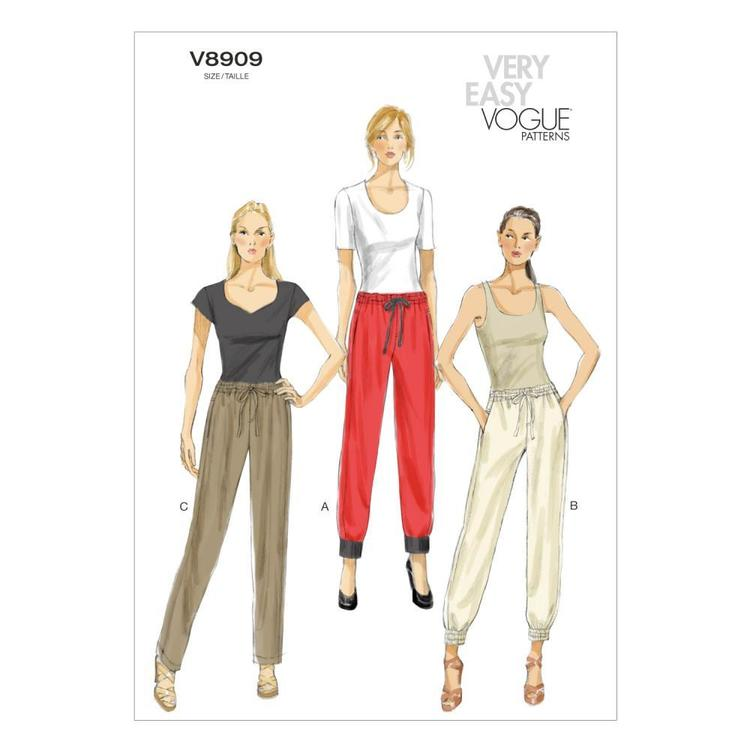 Vogue Pattern V8909 Misses' Pants