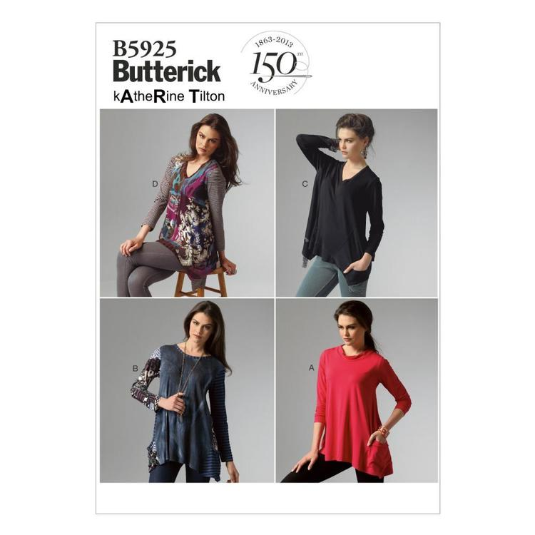 Butterick Pattern B5925 Misses' Top