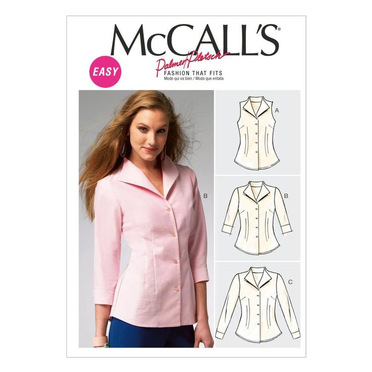 McCall's Pattern M6750 Misses' Shirts
