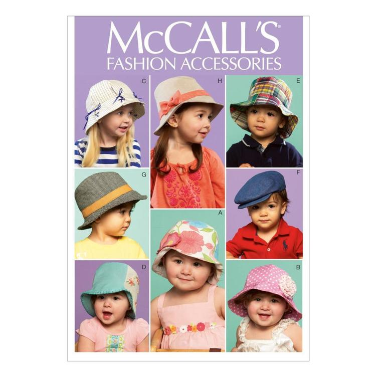 McCalls M6762 Kids' Hats  One Size