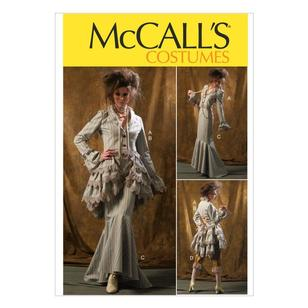 McCall's M6770 Misses' Jacket Bustle & Capelet Skirt & Pants