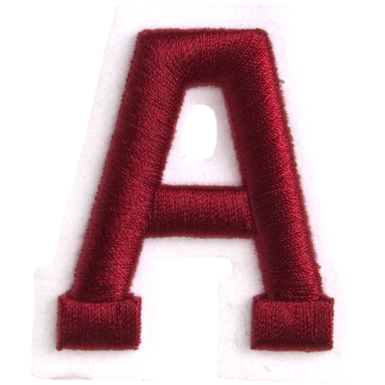 Simplicity Raised Letter A Iron On Motif