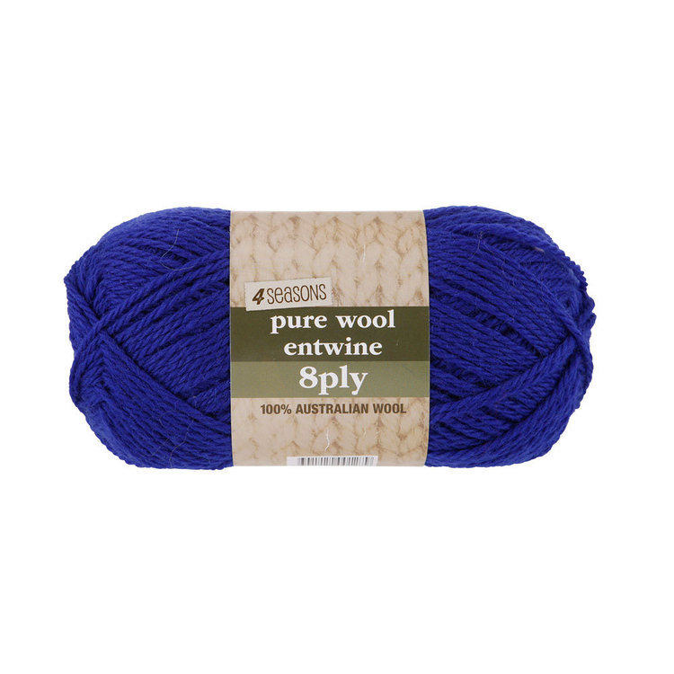 4 Seasons Pure Wool Entwine 8 Ply Yarn 100 g