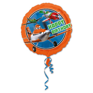 Amscan Foil Disney Planes Happy Birthday Balloon