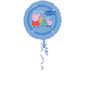 Amscan Foil Peppa Pig & Friends Balloon Blue 45cm