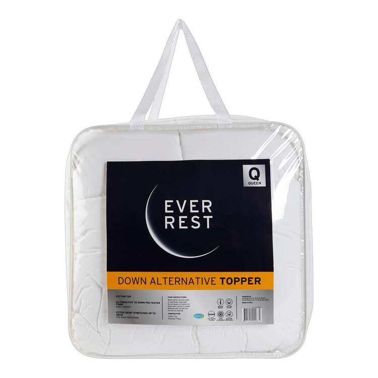 Ever Rest Alternative To Down Topper
