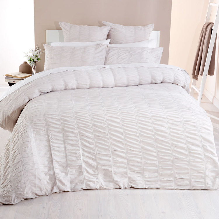 KOO Bella Ruched Quilt Cover Set