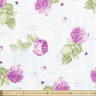 La Vie En Rose All Over Fabric