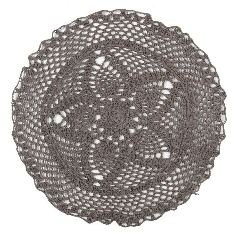 Ladelle Daisy Crochet Placemat