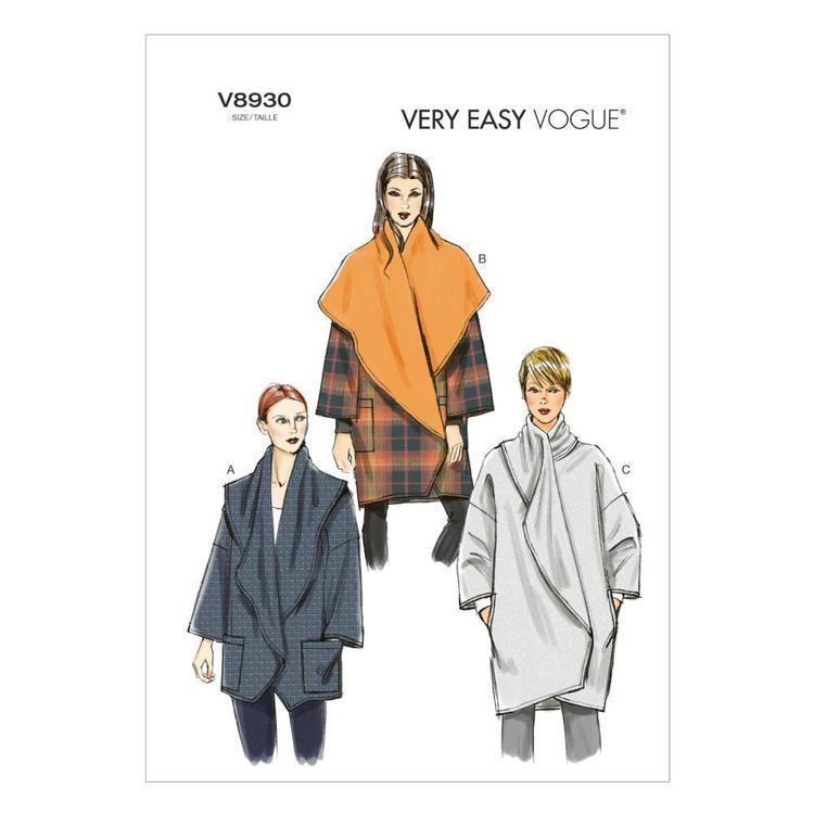 Vogue Pattern V8930 Misses' Jacket