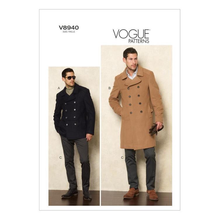 Vogue Pattern V8940 Men's Jacket & Pants