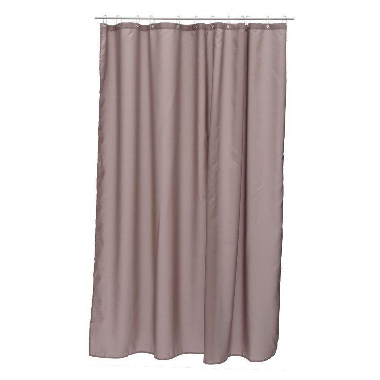 Bath By Ladelle Polyester Shower Curtain