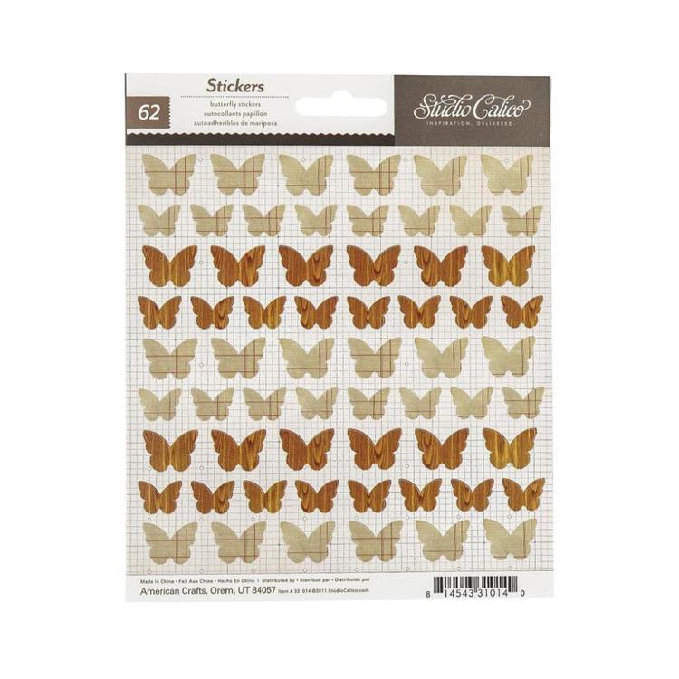 Studio Calico Studio Calico Butterflies Stickers
