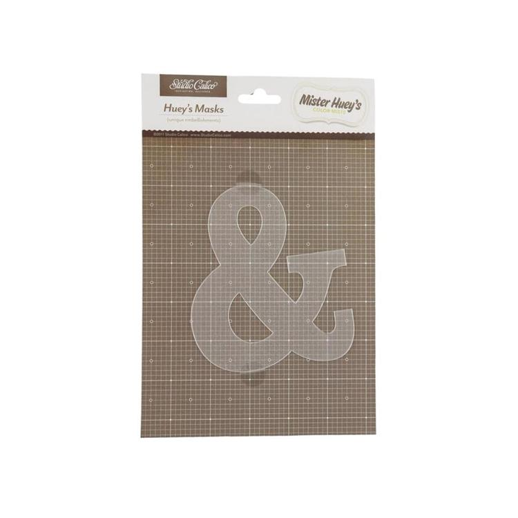 Studio Calico Huey's Masks Ampersand Clear