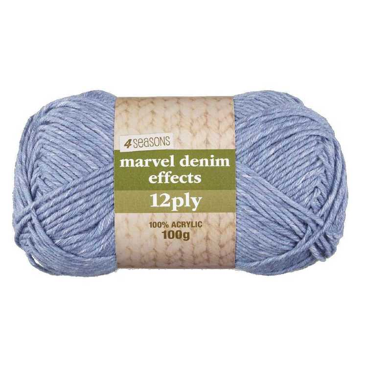 4 Seasons Marvel Printed 12 Ply Denim 100 g