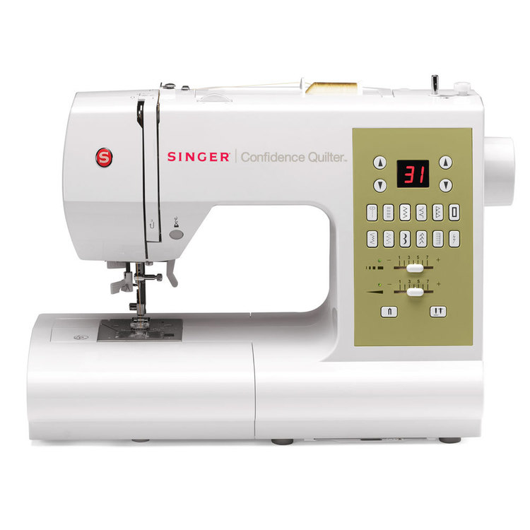 Singer 7469Q Confidence Quilter Machine White