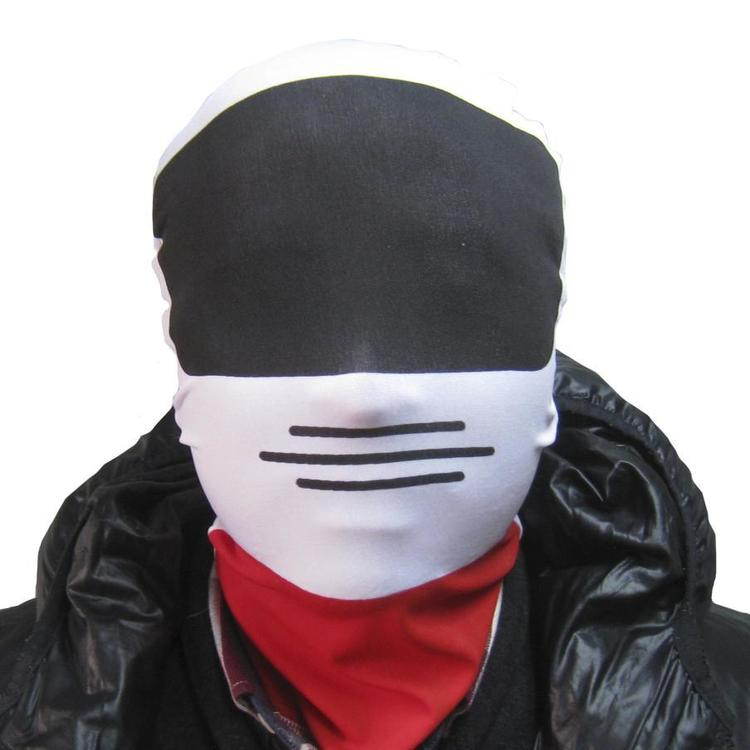 Party Creator Racing Driver Morph Hood White