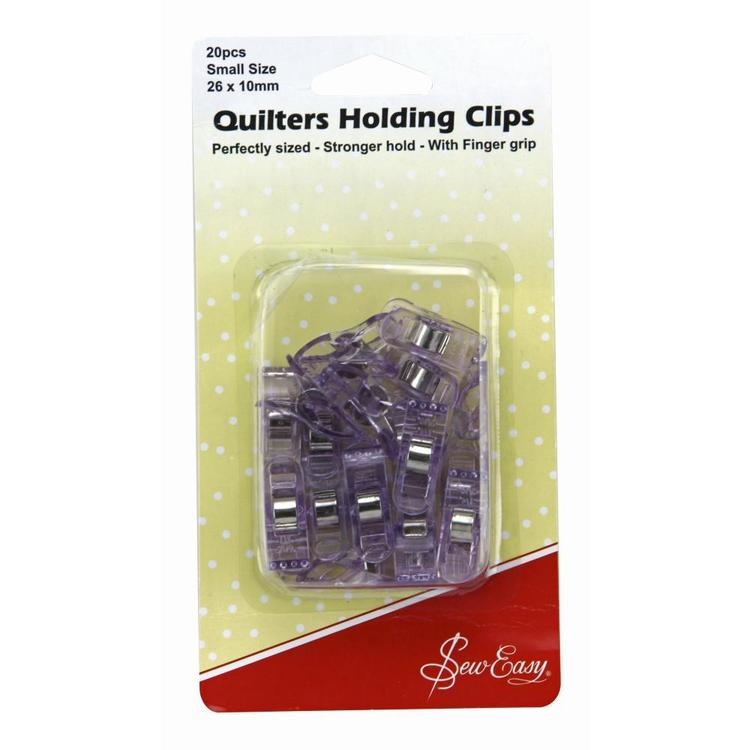 Sew Easy Quilt Holding Clips Purple Small