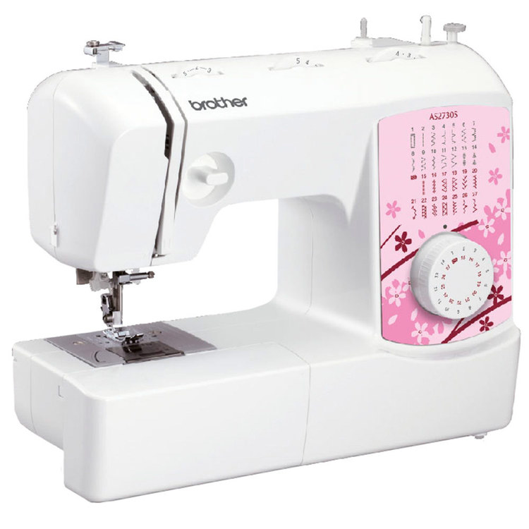 Brother AS2730S Sewing Machine White & Pink