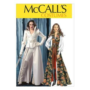 McCall's Pattern M6819 Misses' Costumes