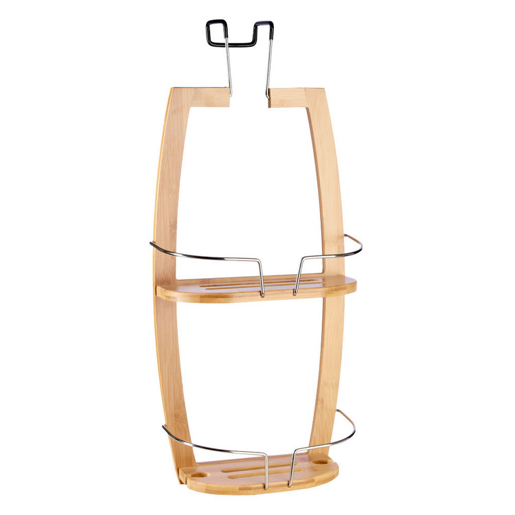 KOO Bamboo Shower Screen Caddy Bamboo