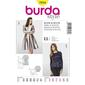 Burda 7034 Women's Dress And Top  8 - 18