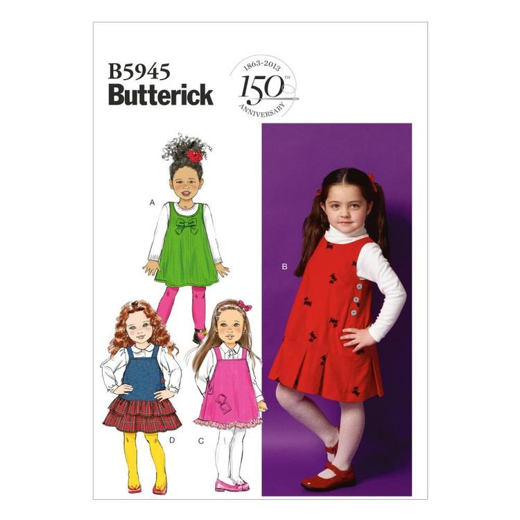 Butterick Pattern B5945 Girls' Jumper