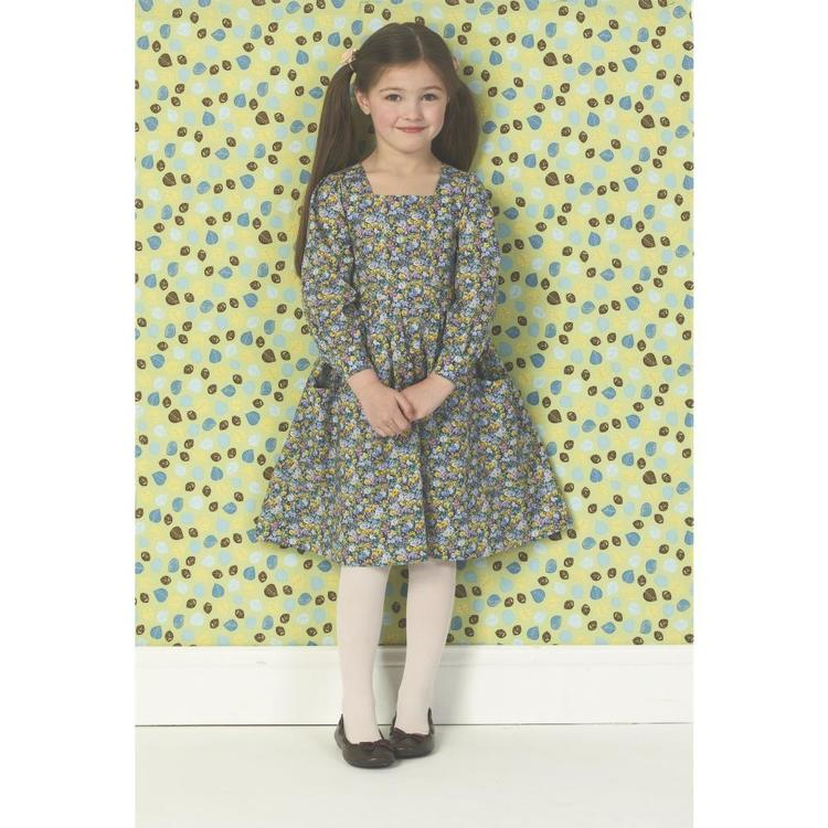 Kwik Sew K0147 Girls' Dresses One Size