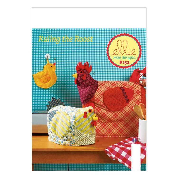 Kwik Sew Pattern K0152 Potholder & Appliance Covers