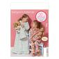 Kwik Sew K0157 Girls' & Doll  Dolls' Loungewear  All Sizes
