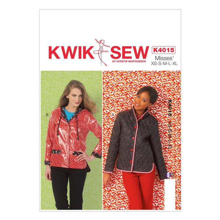 Kwik Sew Pattern K4015 Misses' Lined Jackets