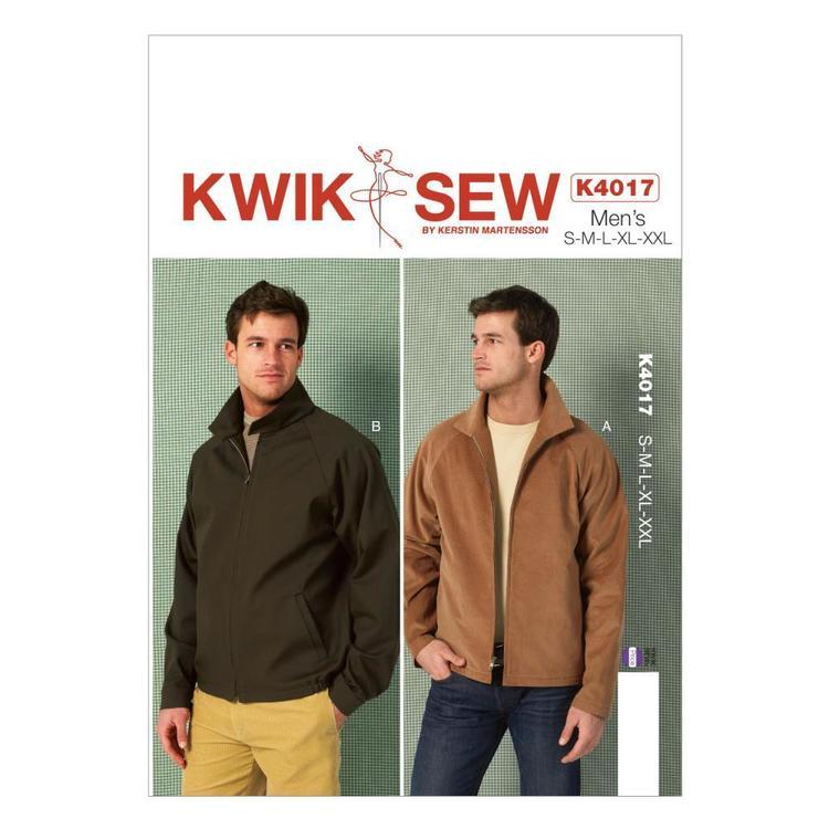 Kwik Sew Pattern K4017 Men's Jackets