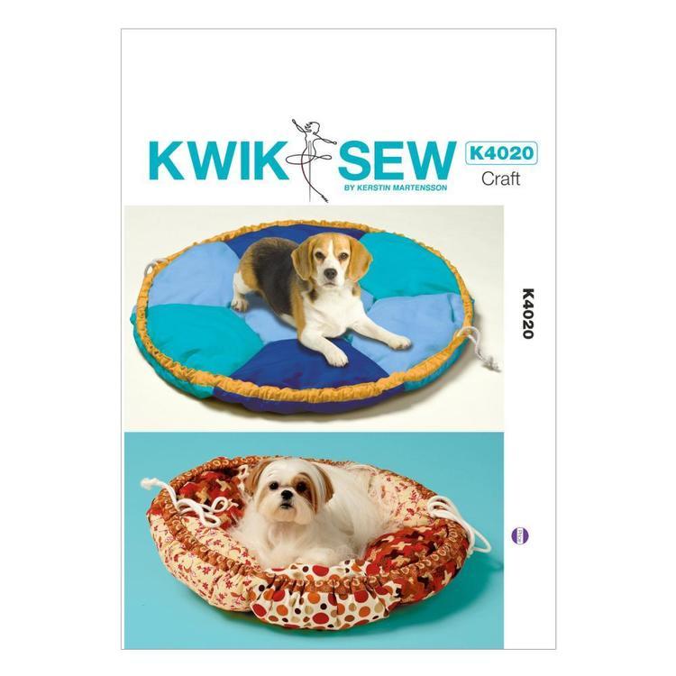 Kwik Sew Pattern K4020 Pet Bed In 2 Sizes