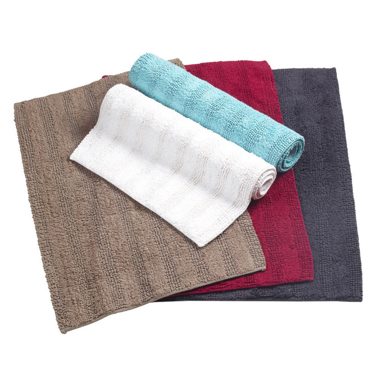 KOO Linear Tufted Bath Mat