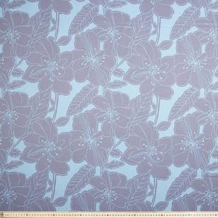 Hibiscus Triple Weave Fabric