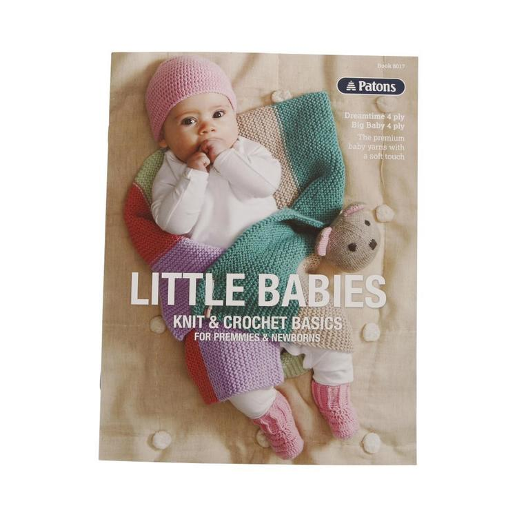 Patons Little Babies In 4 Ply Pattern Book