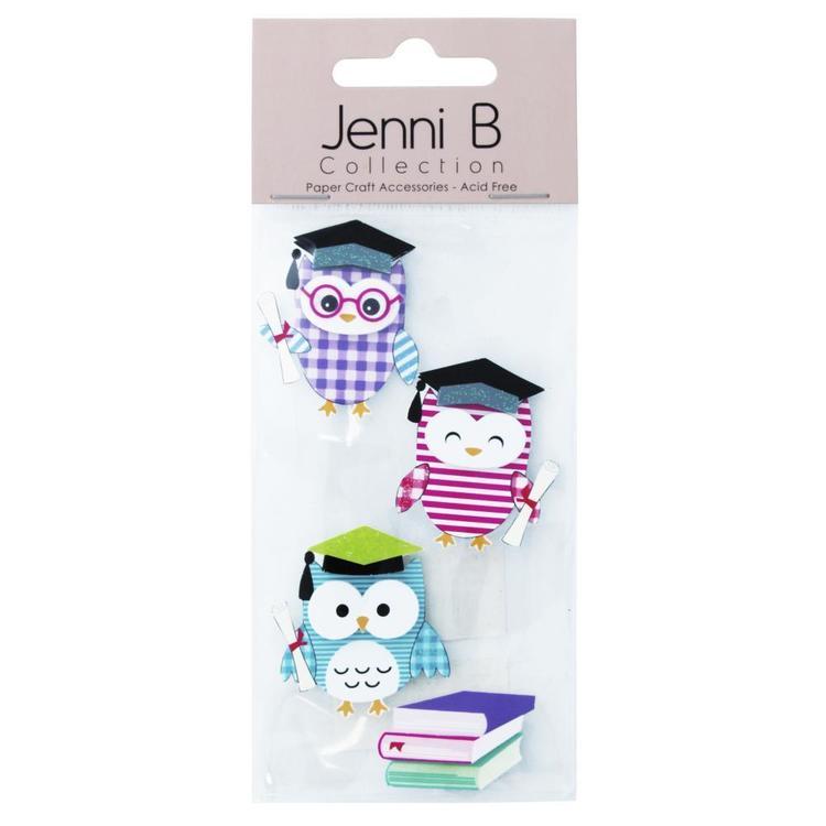 Jenni B Wise Owls Stickers