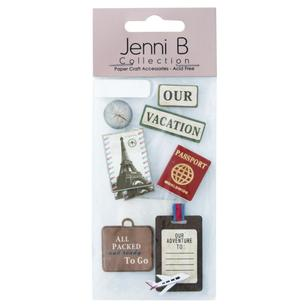 Jenni B World Travel Stickers