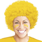 Amscan Supporter Curly Wig