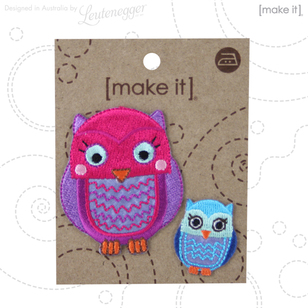 Make It Bright Owls Motif